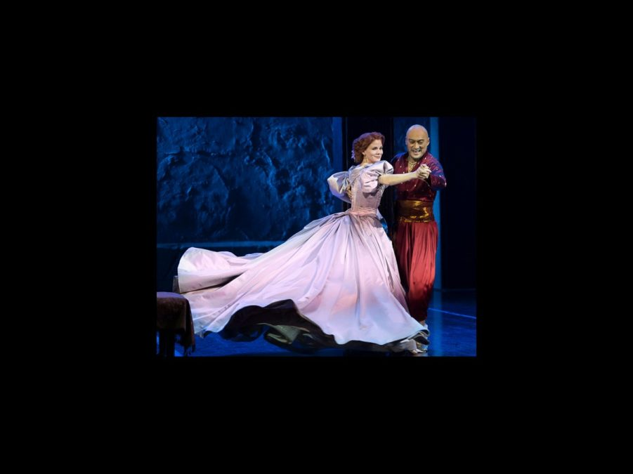 PS - The King and I - wide - 4/15 - Kelli O'Hara - Ken Watanabe