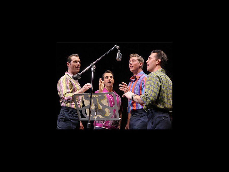 PS - Jersey Boys - national tour - Joseph Leo Bwarie - Preston Truman Boyd - John Gardiner - Michael Lomenda