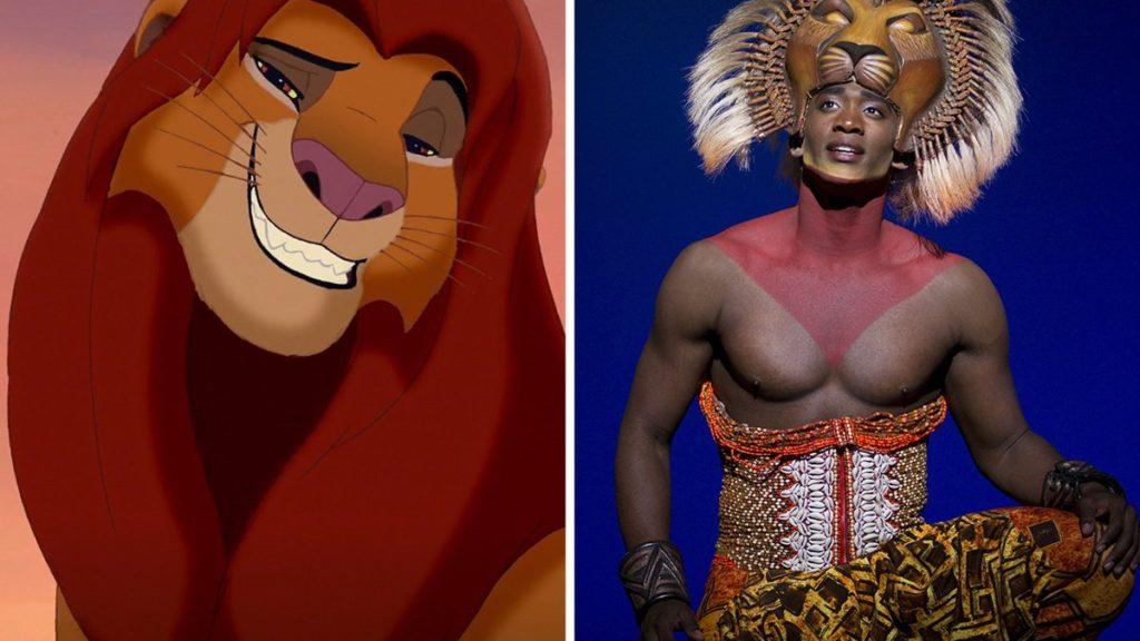 Lion King split - Walt Disney Studios - photo - Joan Marcus - 9/16