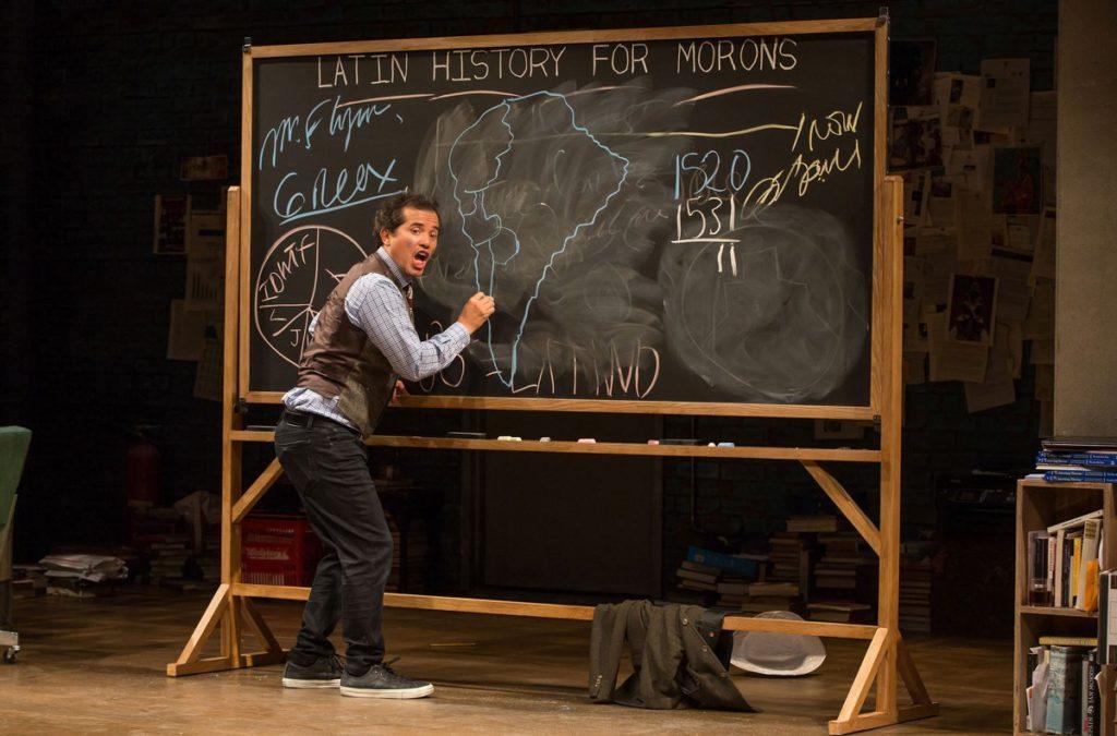 Show Photos - Latin History for Morons (Broadway) - John Leguizamo - Photo: Matthew Murphy