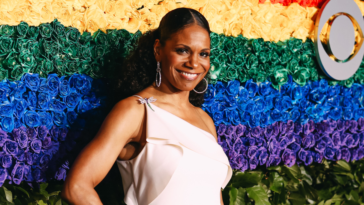 Tony Awards 2019 - Arrivals - Audra McDonald - Emilio Madrid-Kuser