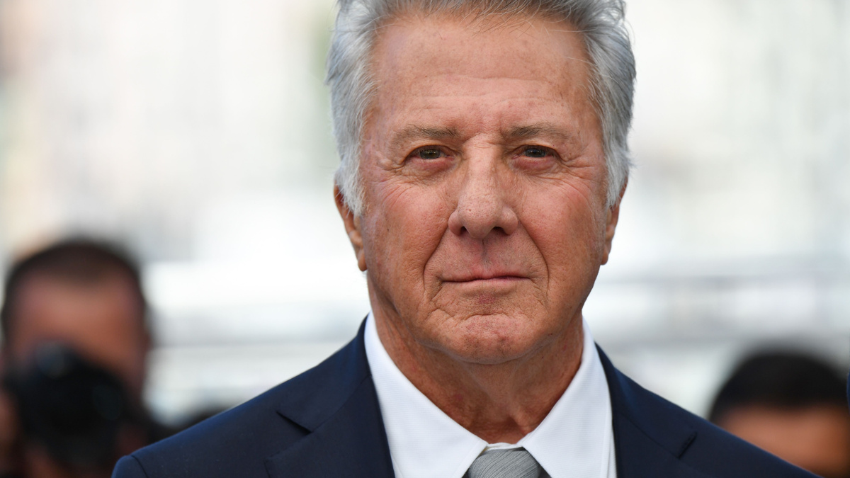Dustin Hoffman - 5/17 - Alberto Pizzoli/AFP/Getty Images