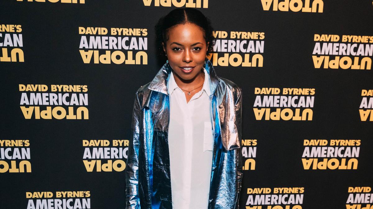 OP - American Utopia - Broadway Opening - Adrienne Warren - 10/19 - Emilio Madrid