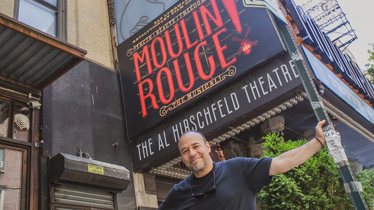 Away From Home - Danny Burstein - Moulin Rouge! - 8/20 - Matthew Stocke